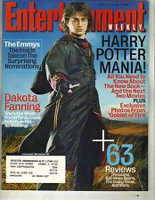 DANIEL RADCLIFFE Entertainment Weekly Magazine 7/29/05 DAKOTA FANNING TOM ARNOLD