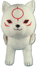 Okami Den Chibiterasu 12'' Plush Wolf Pup New/ Tag Official GE Animation