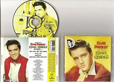 "ELVIS PRESLEY CD ""KING CREOLE"" 1997 EU DIXIELAND ROCK HARD HEADED WOMAN STICKER"