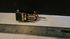 Japanese HO 12v 5 Pole Open Frame Motor for Brass Locomotives, NOS