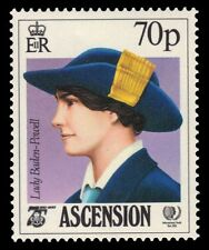 "ASCENSION 380 (SG388) - Girl Guides Anniversary ""Lady Baden-Powell"" (pa10793)"
