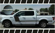 F150 Solid Side Body Hockey Graphics Decals Side Stripes Matte Custom Color