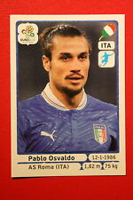 Panini EURO 2012 N. 332 ITALIA OSVALDO  NEW With BLACK BACK TOPMINT!!
