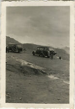 PHOTO ANCIENNE - VINTAGE SNAPSHOT - BUS AUTOBUS AUTOCAR CAR EXCURSION MONTAGNE