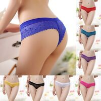 Sexy Lace V-string Briefs Panties Thongs G-string Lingerie Underwear Lady Women