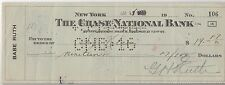 BABE RUTH PSA/DNA CERTIFIED AUTHENTIC SIGNED CHECK AUTOGRAPHED FAT MEN'S SHOP!