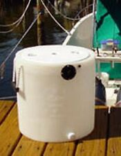 Keepalive 10 Gallon Livewell White Tank Bait well aeration system with  aerator