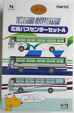 1/150 N scale TOMYTEC THE BUS COLLECTION - Hiroshima bus set A