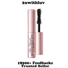 TOO FACED BETTER THAN SEX MASCARA SAMPLE TRAVEL SIZE 4.8G / 0.17 OZ