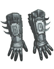 Batman Deluxe Gloves, Mens Arkham City Costume Accessory, Age 14+