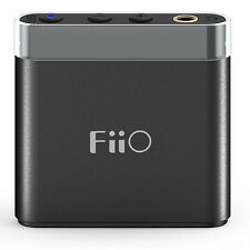 FiiO A1 Portable Headphone Amplifier Rechargeable Hi-Fidelity Output Amp Black