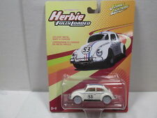 HERBIE THE LOVE BUG - FULLY LOADED  ** WHITE LIGHTNING **  1/64 JOHNNY LIGHTNING