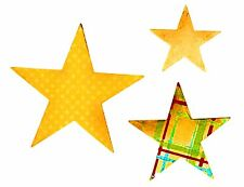 Sizzix Bigz Stars die #656339 Retail $19.99 Cuts Fabric-Crafter's MUST HAVE