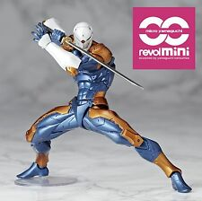 METAL GEAR SOLID REVOL MINI REVOLTECH GRAY FOX CYBORG NINJA ACTION FIGURE MGS #1