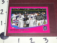 Detroit Tigers ALCS Team Card - 2013 TOPPS #179 Pink Mini SP/25 - BCA Online