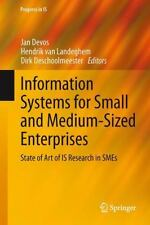 Information Systems for Small and Medium-Sized Enterprises : State of Art of...