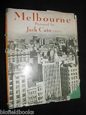 MELBOURNE: Pictured by Jack Cato - 1949-1st - Australian/Australia City Views
