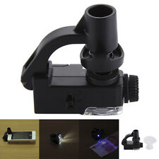Universal Macro Lens Mobile Phone Microscope Optical Zoom Magnifier Micro Camera