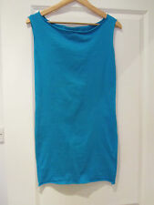 AMERICAN APPAREL BRIGHT BLUE DRESS SIZE SMALL / 8