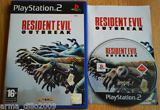 RESIDENT EVIL OUTBREAK PS2 & (60GB VERSION OF PS3 ONLY) COMPLETE by Capcom