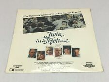 Twice in a Lifetime Laserdisc Movie - NEW