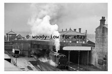 bb0621 - Brighouse Railway Station in 1961 , Yorkshire - photograph