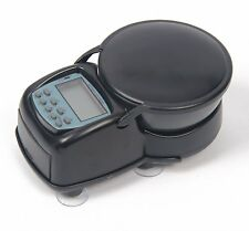 Digital LCD Aquarium Auto Food Feeder Automatic Timer Holiday Fish Feeder