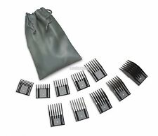 OSTER Universal Clipper 10 Pc Snap On Attachment Guide,Clip On,Guard,Combs A5,76