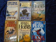 * 6 ACTION-PACKED BOOKS by ROBIN HOBB * UK FREE POST* PAPERBACKS*