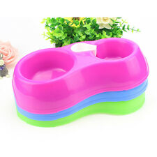 Pet Dog Puppy Automatic Water Feeder Water Drinking Dispenser Food Dish Bowl