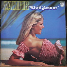"ZAMFIR ""ETE D'AMOUR"" SEXY CHEESECAKE COVER FRENCH LP"