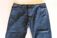 "USA Made LEVI 501xx Blue Jeans Tag-54""x32"" Actual-50""x29"" Dark Denim Button Fly"