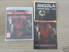 PLAYSTATION 3 PS3   METAL GEAR SOLID V THE PHANTOM PAIN  COMPLET EN FRANCAIS
