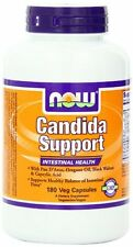 Now Foods Candida Support Intestinal Health 180 Veggie Caps