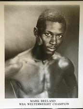 Mark BRELAND-ancien champion du monde-super b / w photo