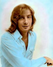 "BARRY MANILOW 1975 SINGER SONGWRITER PRODUCER 8x10"" HAND COLOR TINTED PHOTO"