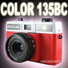 HOLGA 135 BC / 135BC Plastic Lens Hot Shoe 35mm Film Camera LC-A+ LOMO Red White