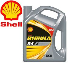 Shell Rimula R4 X 15W40 CI4 E7 DH1 Latta da 5 litri