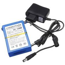 DC 12V 3000mAh Super Rechargeable Li-ion Battery Pack with AC Charger EU Plug