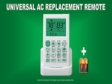 Universal AC A/C Remote For Trane,Fujitsu,Hitachi,Toshiba,Sanyo, York,Carrier,LG