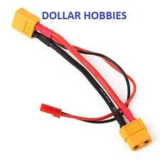 XT60 W/ JST Battery Connector Extension 14AWG Silicone Flex Wire