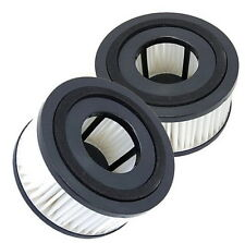 2x HQRP HEPA Filter for Dirt Devil F15, 1SS0150000, 3SS0150001 vacuum cleaner