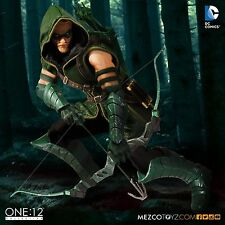 "One: 12 Collective DC Comics GREEN ARROW 6"" Action Figure Mezco 1/12 IN STOCK"