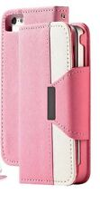 Magnetic flip wallet card case cover pouch new hybrid design for iPhone Samsung