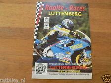 1998 INT. WEGRACES RAALTE 13/14-6-1998 CIRCUIT LUTTENBERG,POSTER FEIJEN,BOUWMAN,