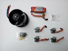 Dynam 70mm EDF Ducted Fan 3200KV Motor 60A ESC 9G Servo Power Combo Set DY-1022