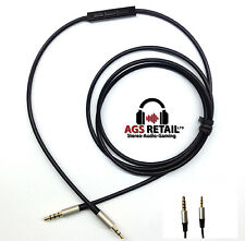1.2m cable de actualización de audio para Bowers And Wilkins P5 P7 Micrófono Y Control Remoto-Iphone