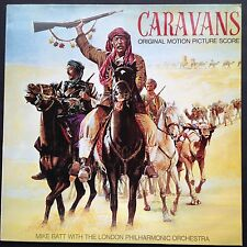 Dutch import! Mike Batt CARAVANS Film Soundtrack OST LP 1979 Barbara Dickson LPO