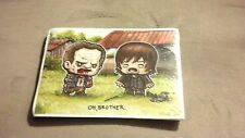 "Rare ""Oh, Brother"" Art Print SuperEmoFriends by JSalvador The Walking Dead 5x7"