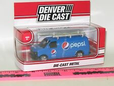 The Menards ~ Blue Pepsi Van  Denver Die Cast